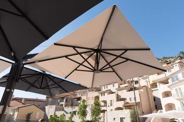 Зонт профессиональный двухкупольный Olimpo
