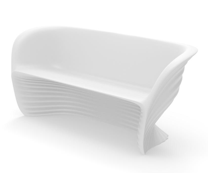 Диван пластиковый Biophilia Sofa Basic