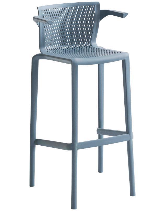 Кресло пластиковое барное Spyker Stool B