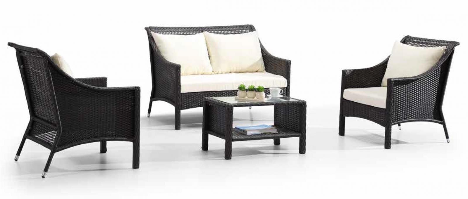 Комплект плетеной мебели Monika