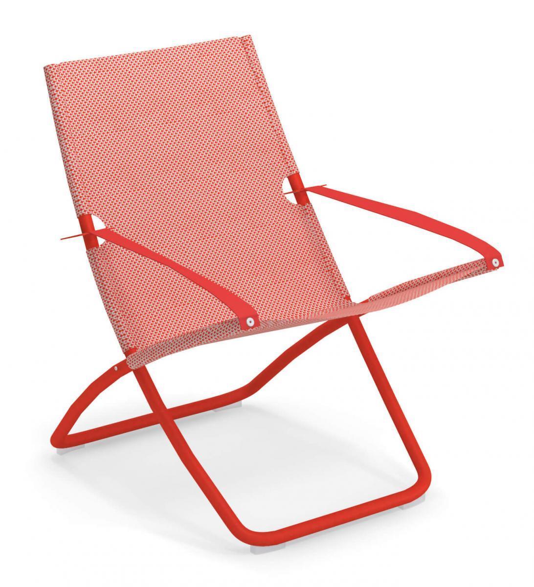 Кресло-шезлонг металлическое Snooze