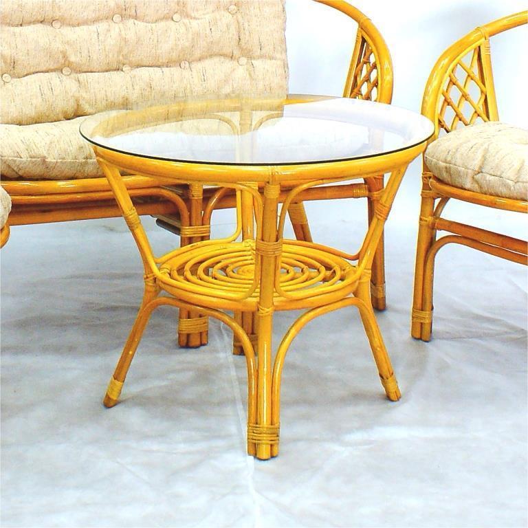 Стол плетеный обеденный Багама