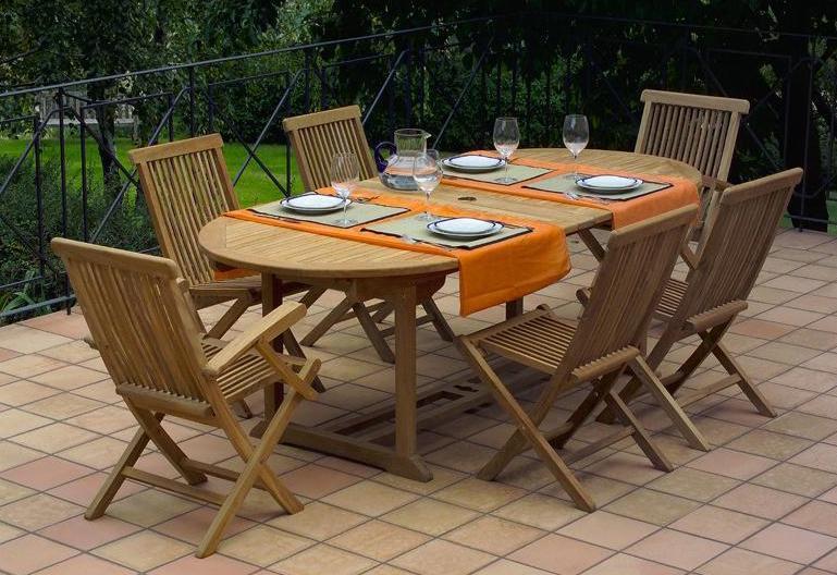 Стол деревянный раздвижной Konnor