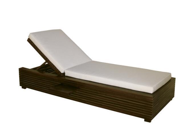 Шезлонг-лежак деревянный Saint Tropez