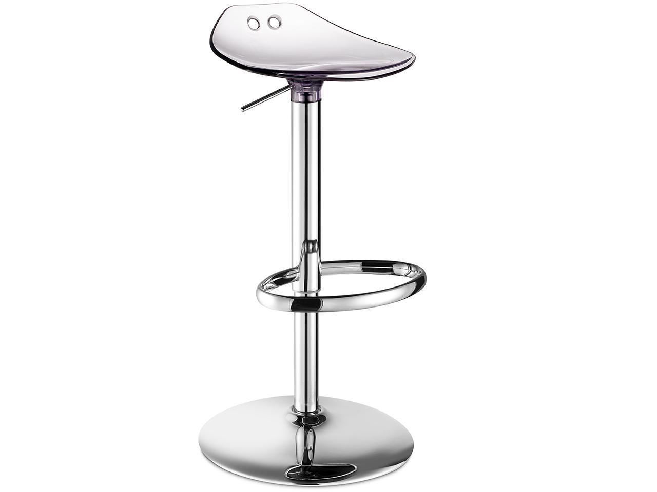 Барный прозрачный стул Frog Up