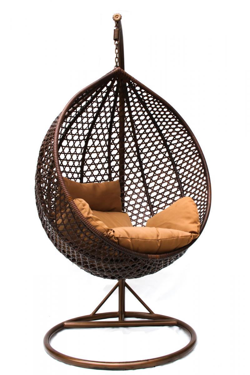 Кресло плетеное подвесное KM-0002