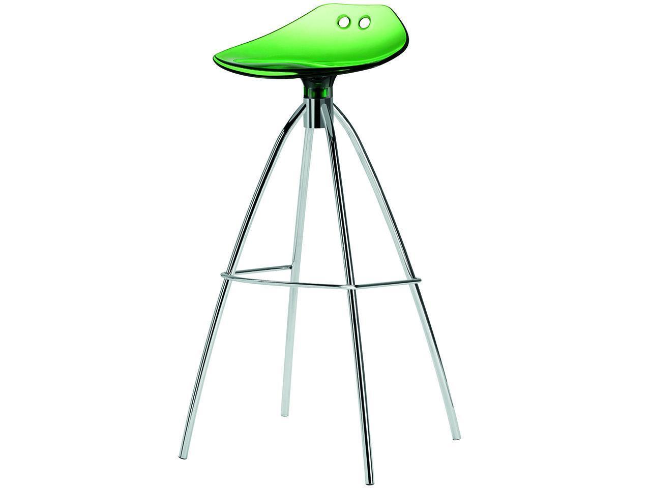Барный прозрачный стул Frog