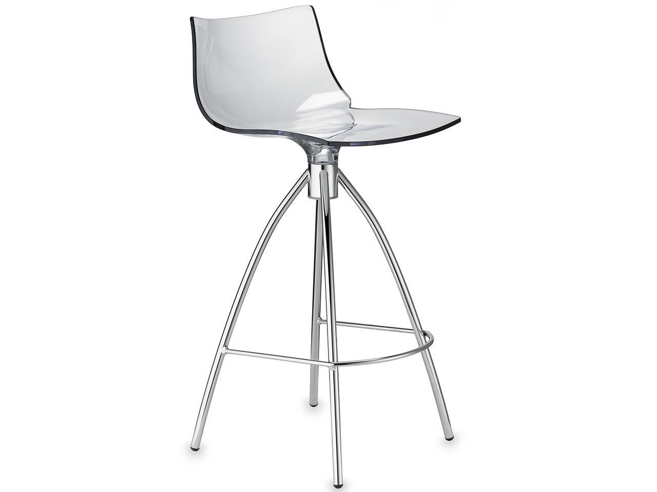 Полубарный прозрачный стул Daylight