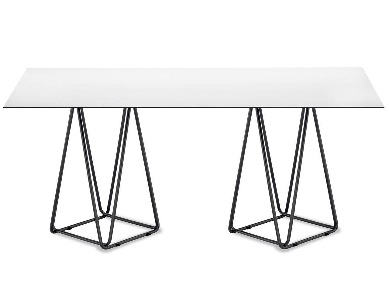 Прямоугольный обеденный стол, PAPATYA, Trio