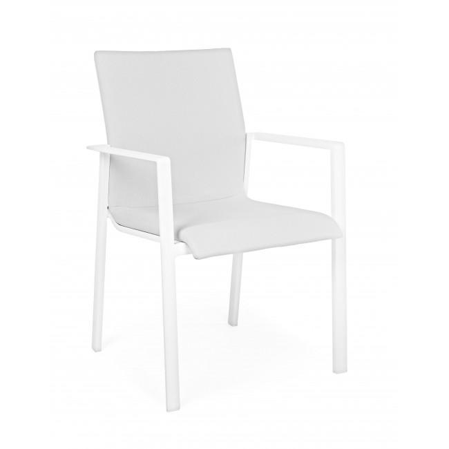 Кресло металлическое текстиленовое Grayson