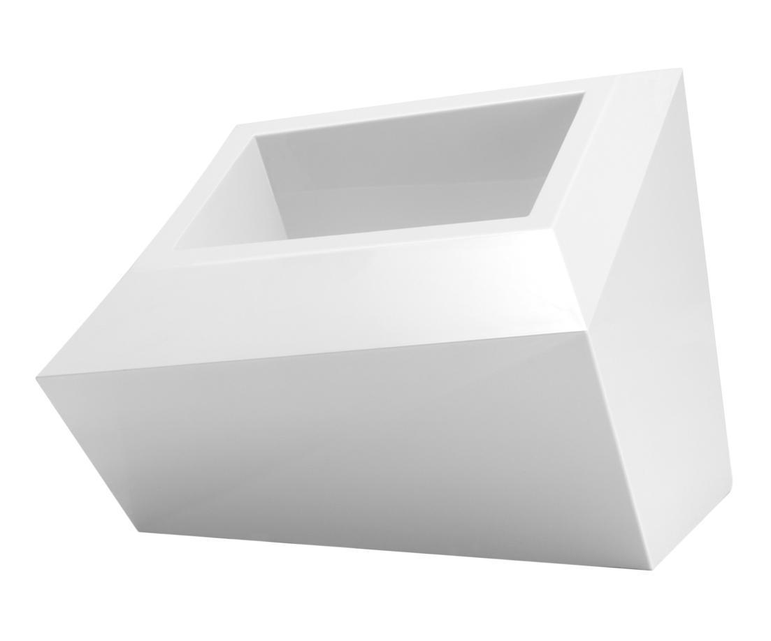 Кашпо пластиковое Faz Pot XL Low Basic