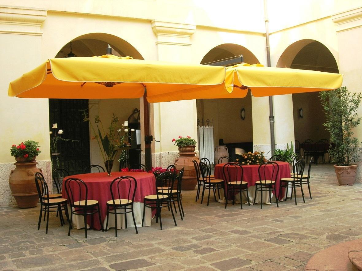 Зонт профессиональный двухкупольный Fellini Wood V