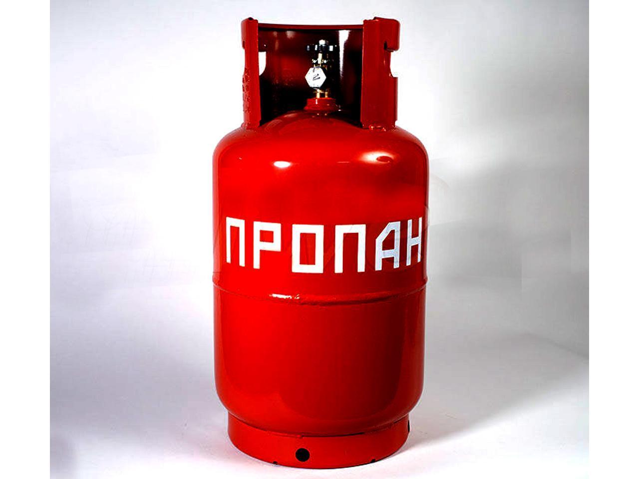 Газовый баллон для уличного газового обогревателя