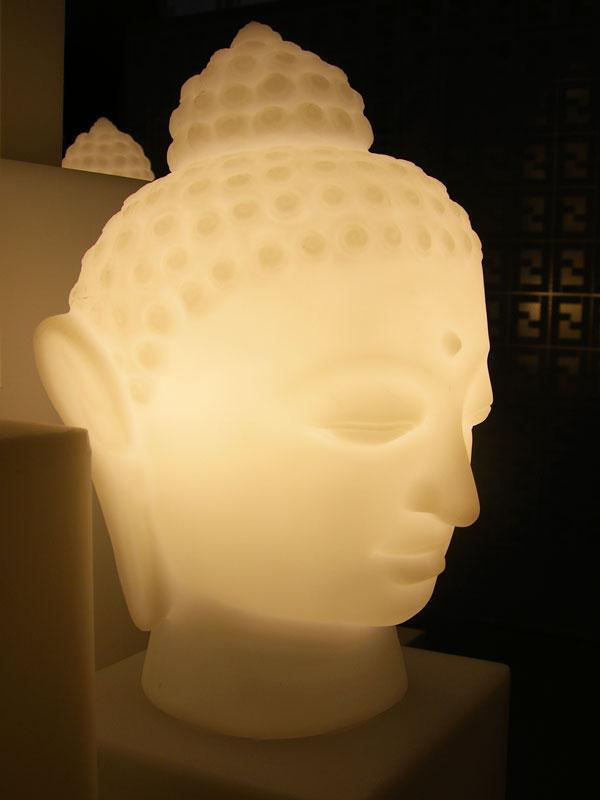 Светильник пластиковый настольный Будда Buddha Lighting