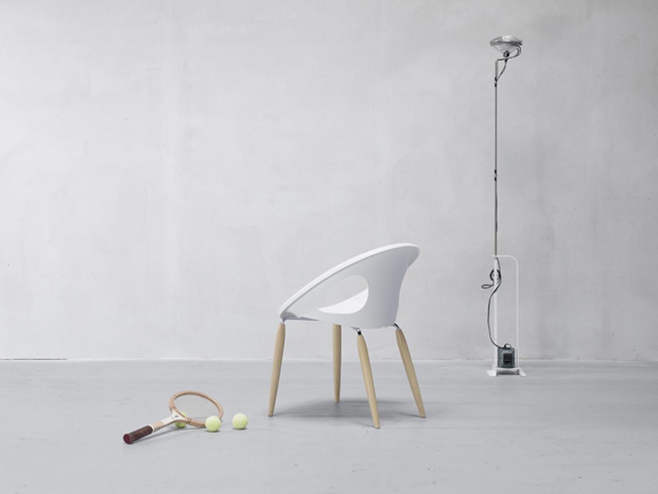 Кресло пластиковое Natural Drop 2021 г.