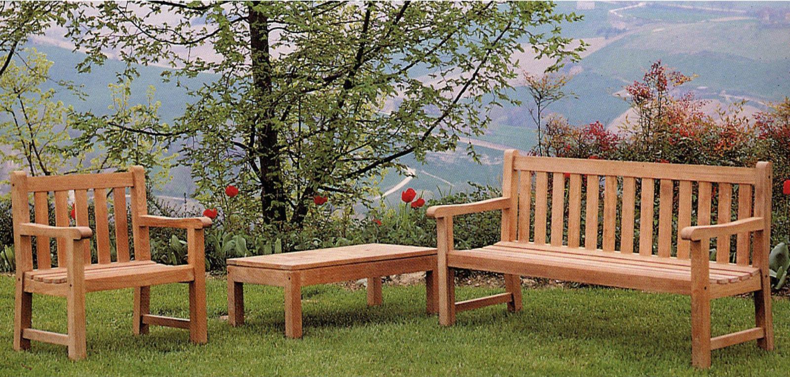 Кресло деревянное Oxford