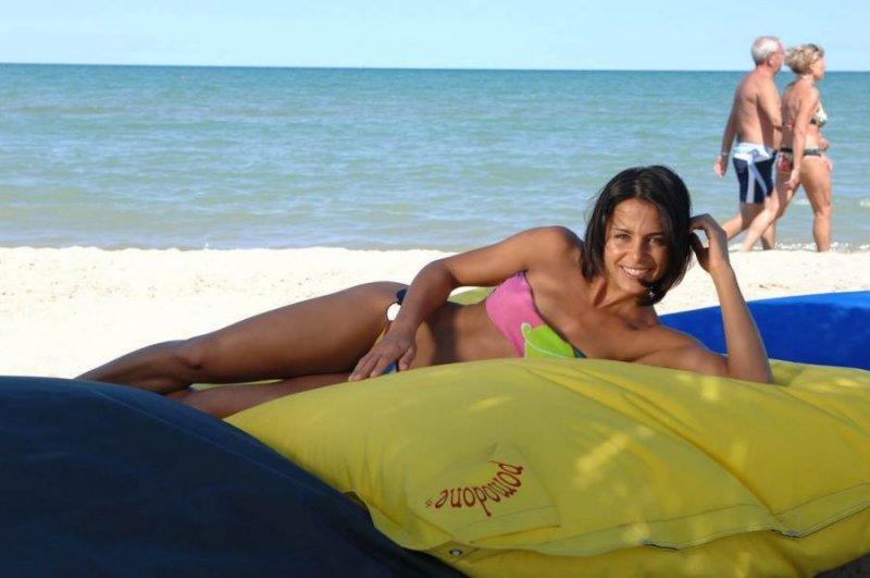 Подушка профессиональная пляжная Pomodone Tessuto