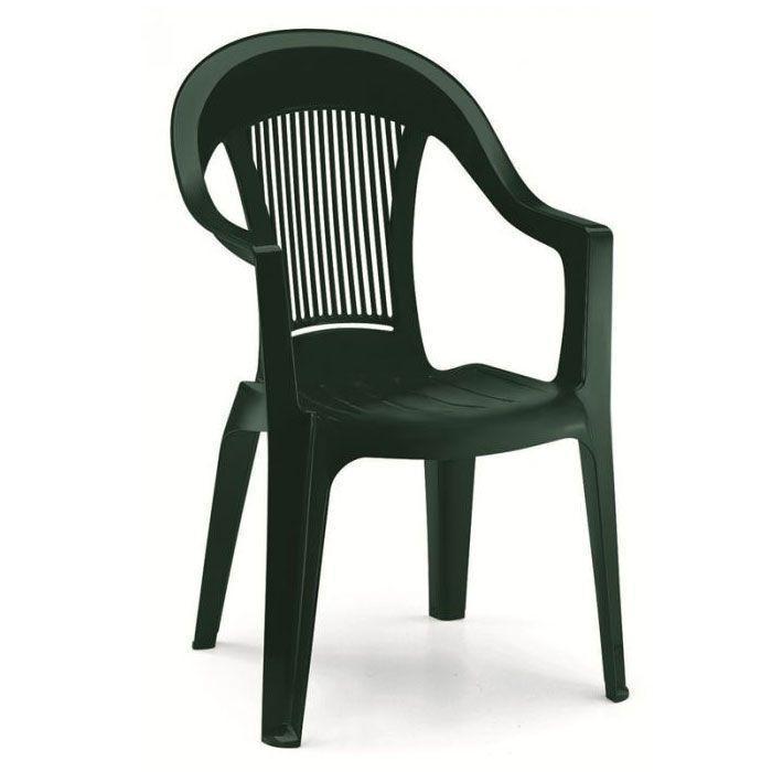 Кресло пластиковое Elegant Scratchproof Monobloc