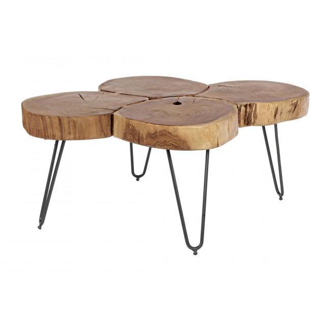 Столик деревянный журнальный ORBITAL
