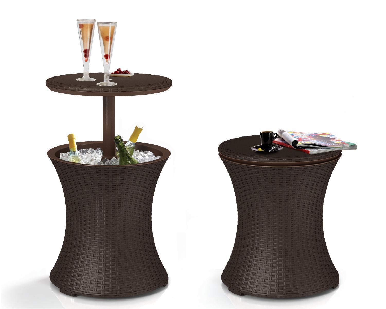 Стол пластиковый мини-бар Rattan Cool Bar