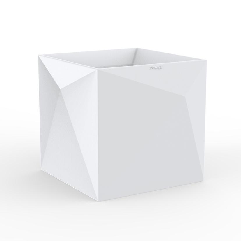 Кашпо пластиковое Faz Cube Basic