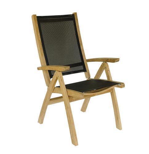 Кресло деревянное складное мягкое Macao