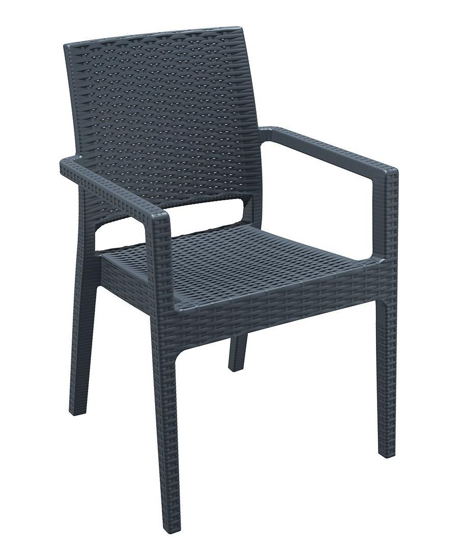 Кресло пластиковое плетеное Ibiza