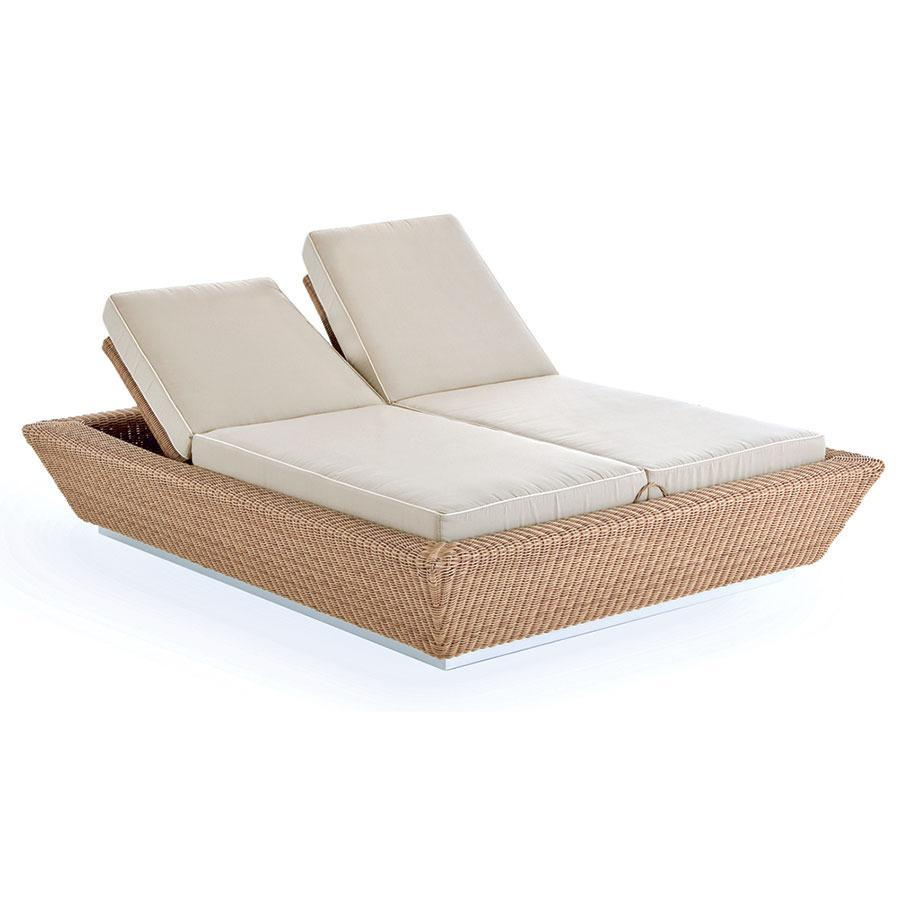Лежак плетеный двухместный ZOE