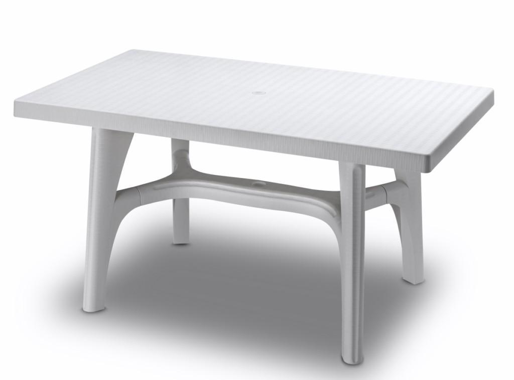 Стол пластиковый обеденный Tavolo intrecciato 1400