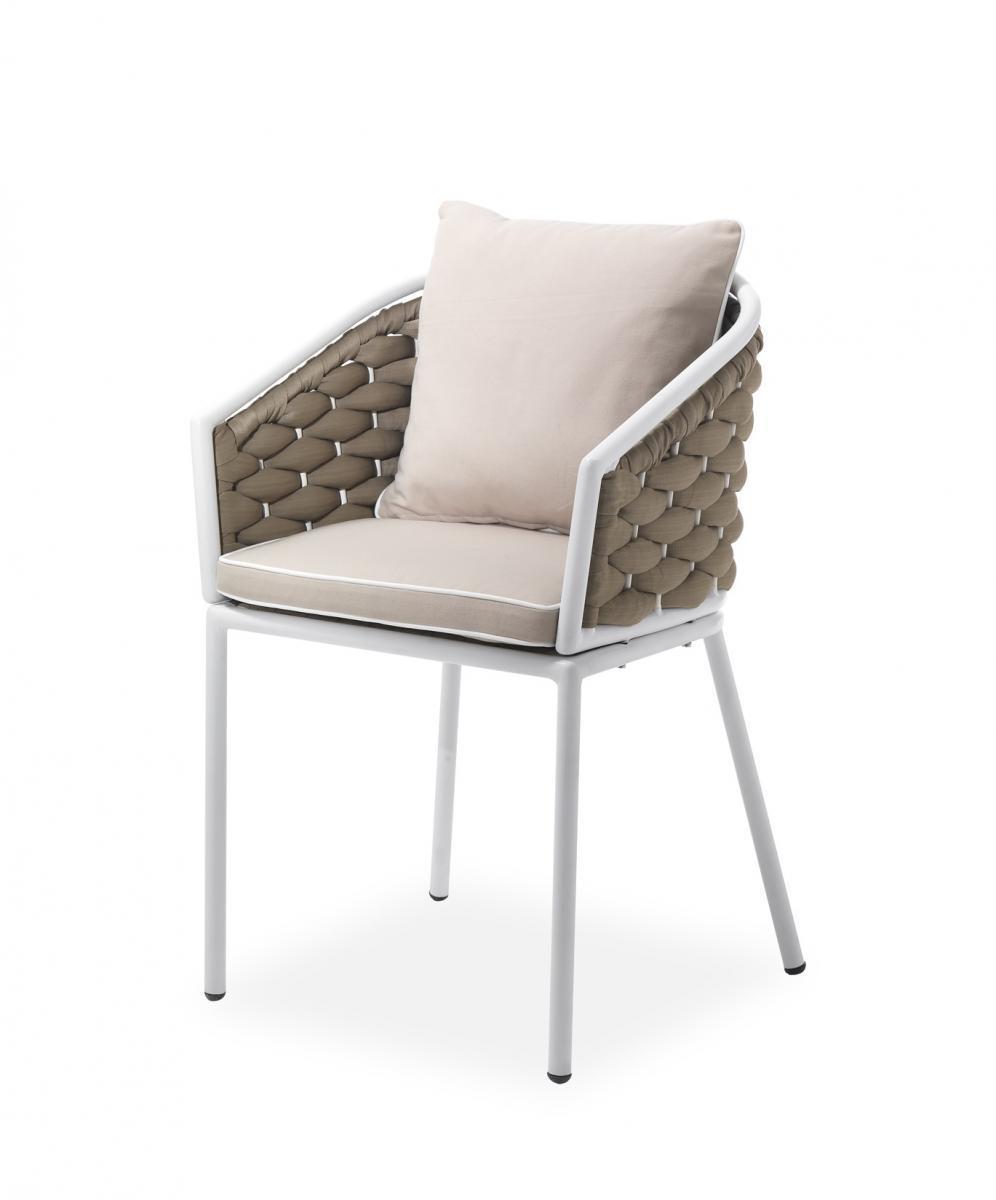 Кресло плетеное с подушкой Manhattan
