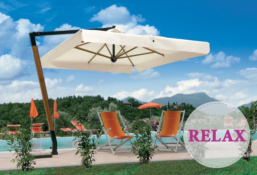 Зонт профессиональный Palladio Braccio Relax