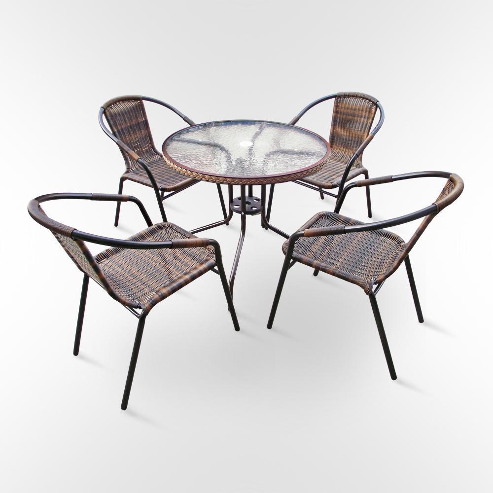 Комплект плетеной мебели Николь-1В