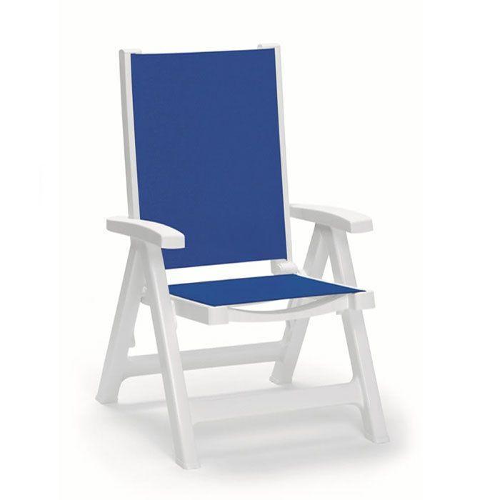 Кресло пластиковое Esmeralda tex folding armchair