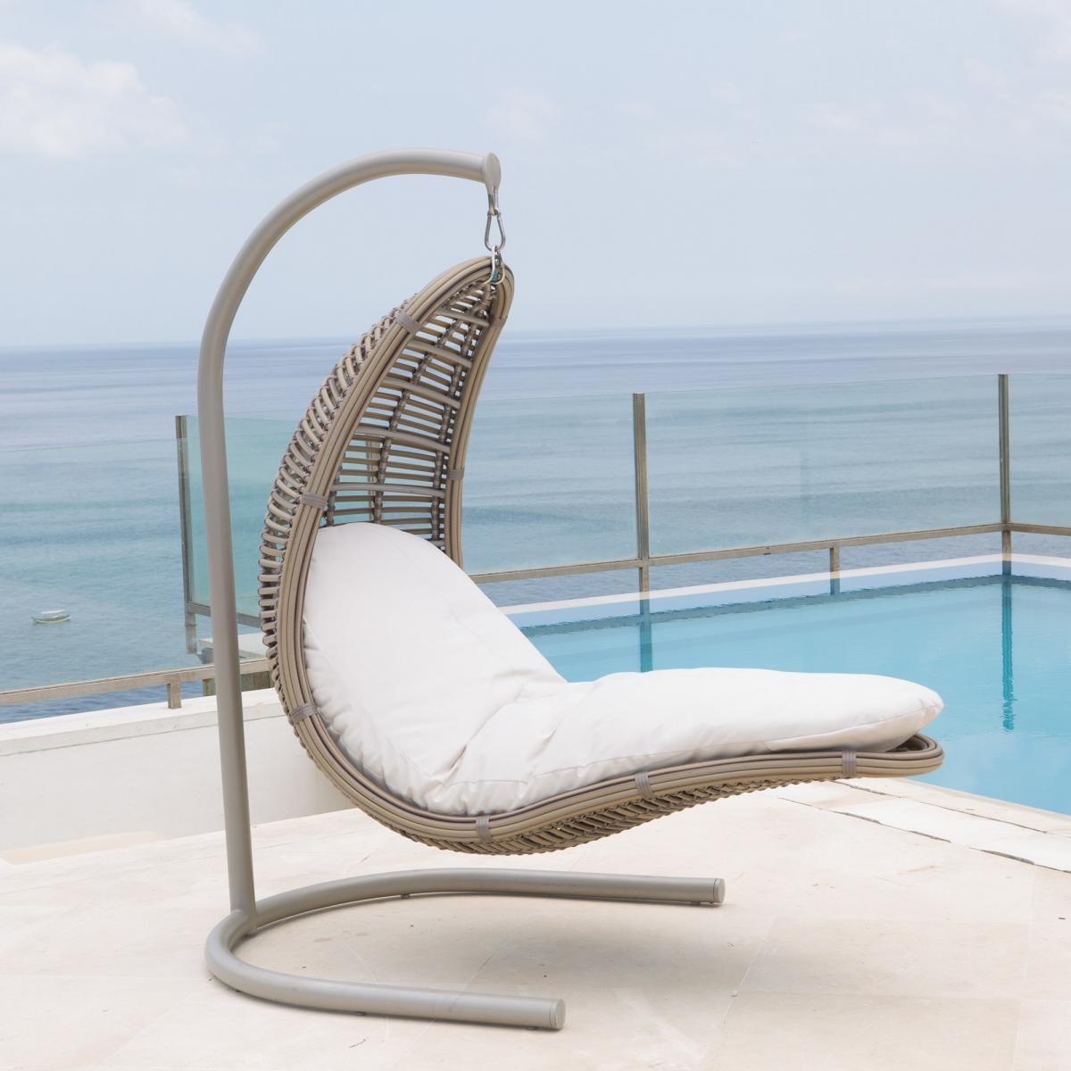 Кресло плетеное подвесное Castries