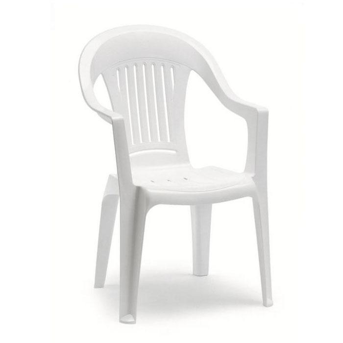 Кресло пластиковое California Monobloc High back