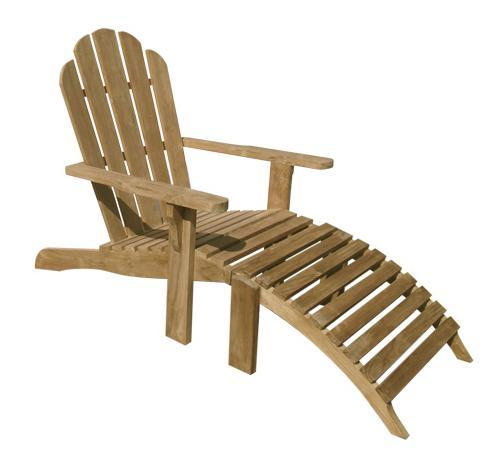 Кресло-шезлонг деревянное Riviera
