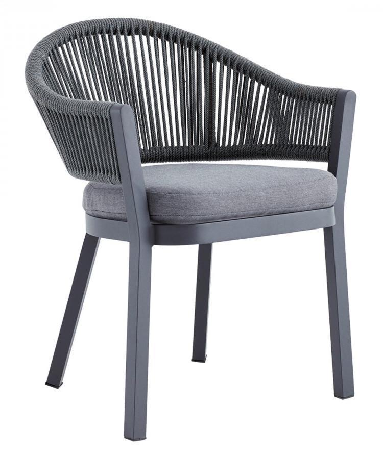 Кресло плетеное с подушкой Sofia