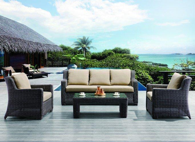 Комплект плетеной мебели Sunstone