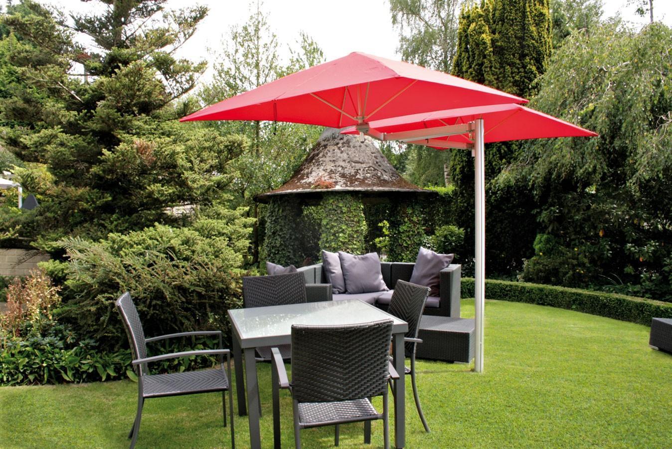 Зонт профессиональный двухкупольный Duoflex Paraflex