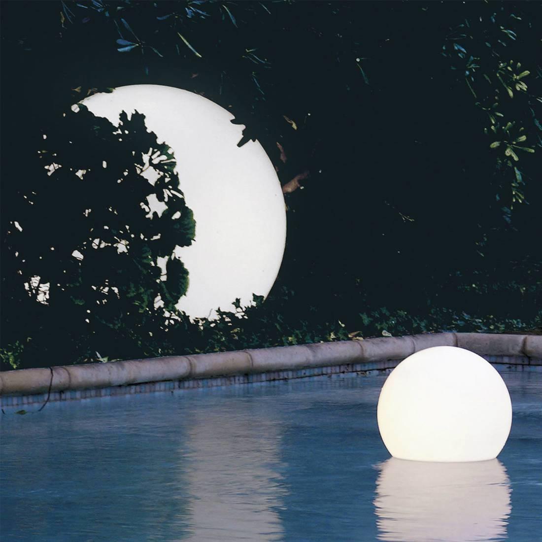 Пластиковый плавающий светильник, Acquaglobo, 700 мм