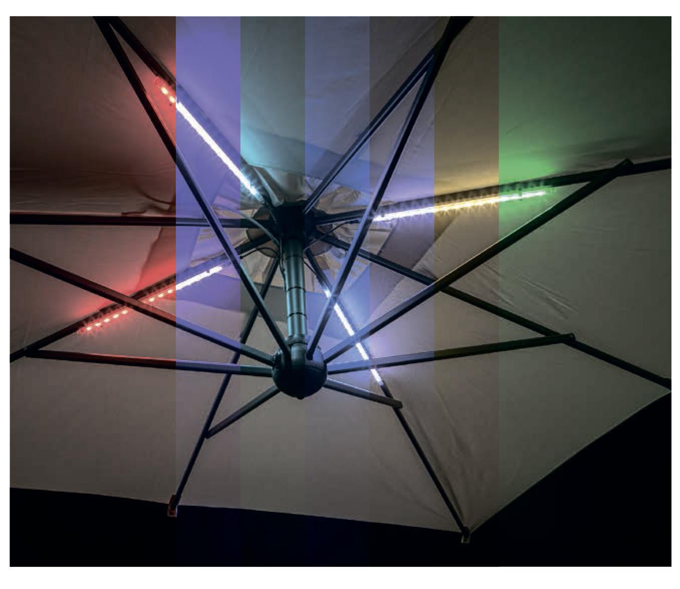 LED светильник для зонта (от сети)