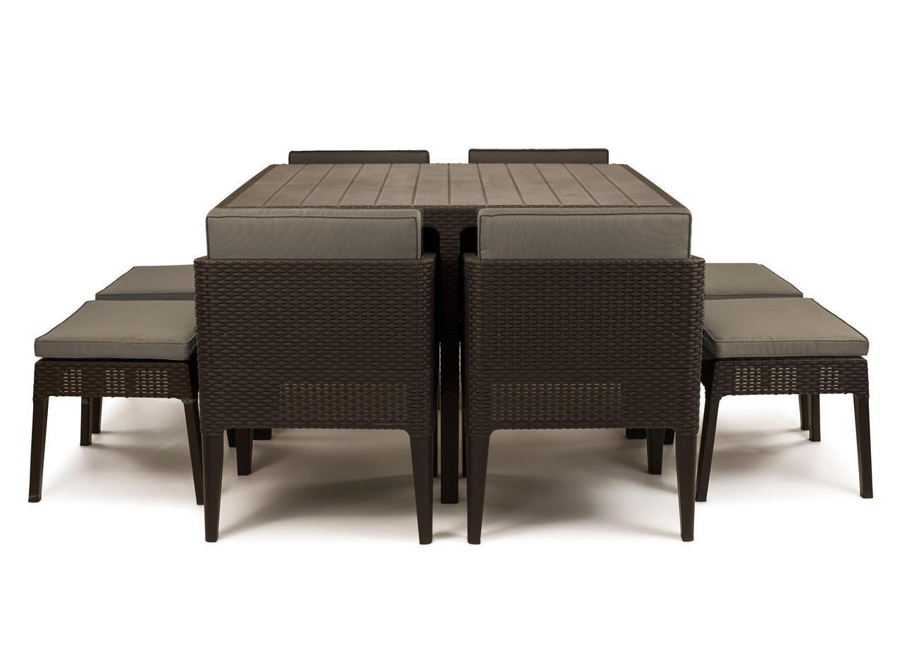 Комплект пластиковой мебели Columbia set 9 pcs