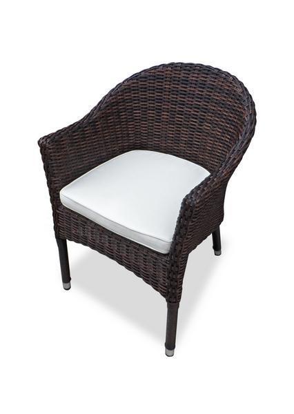 Кресло плетеное с подушкой Warsaw