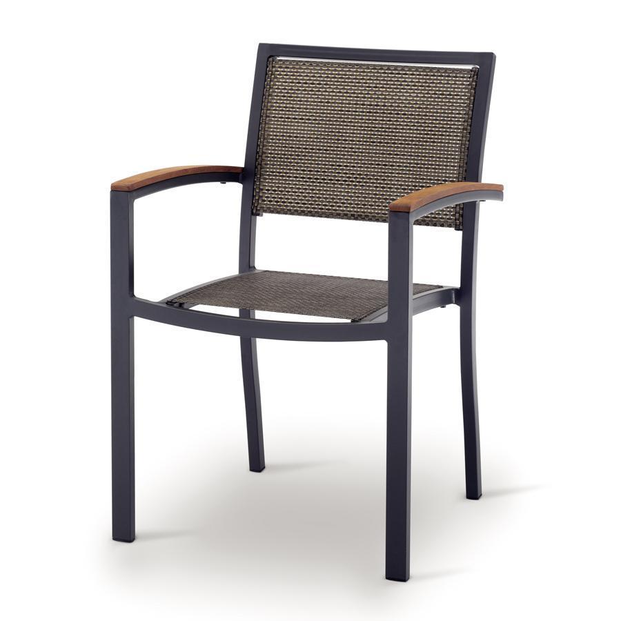 Кресло металлическое текстиленовое GS 941