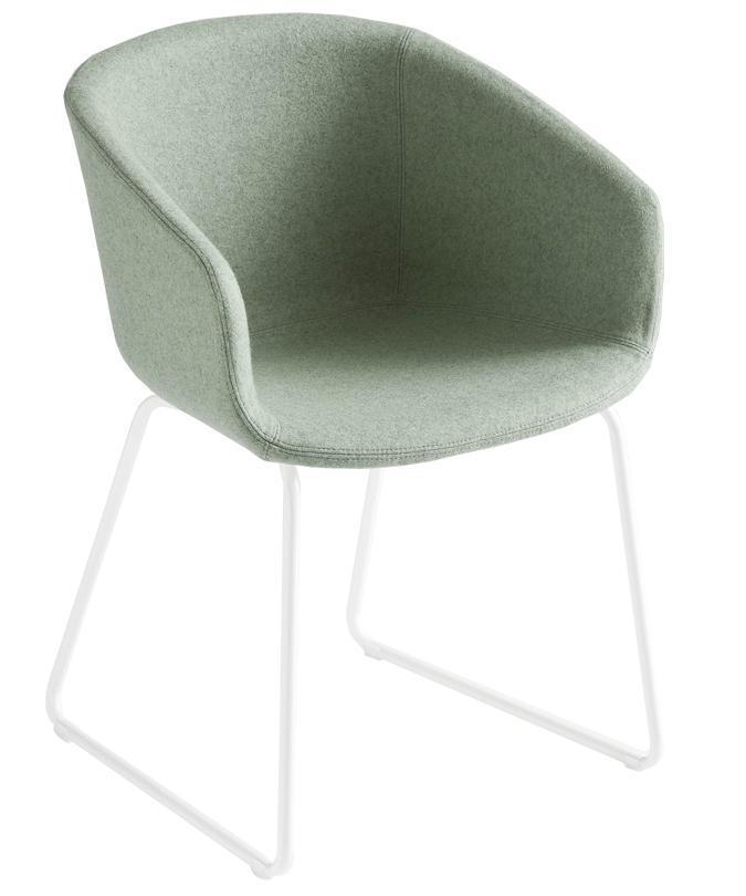 Кресло с обивкой Basket Chair ST