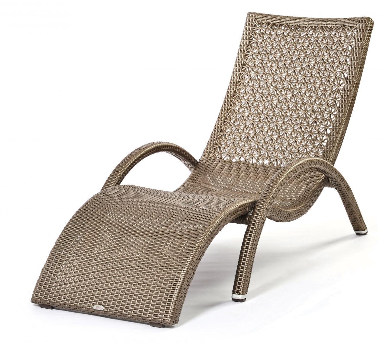 Шезлонг-лежак плетеный Altea