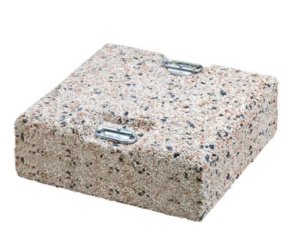 Утяжелительная плита квадратная с ручками 120 кг