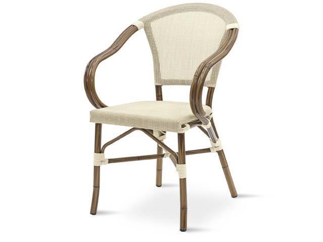 Кресло металлическое текстиленовое GS 950