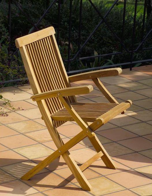 Кресло деревянное складное Karen