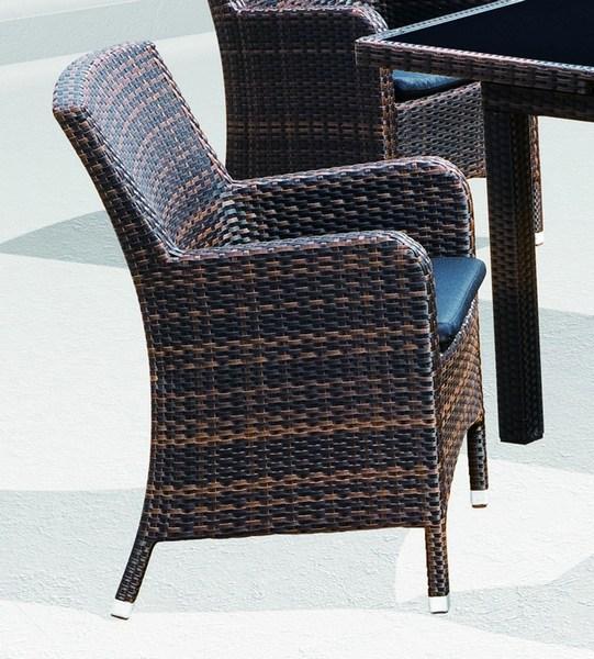 Кресло плетеное с подушкой Mykonos